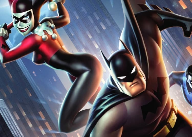 Promotional image for Batman and Harley Quinn
