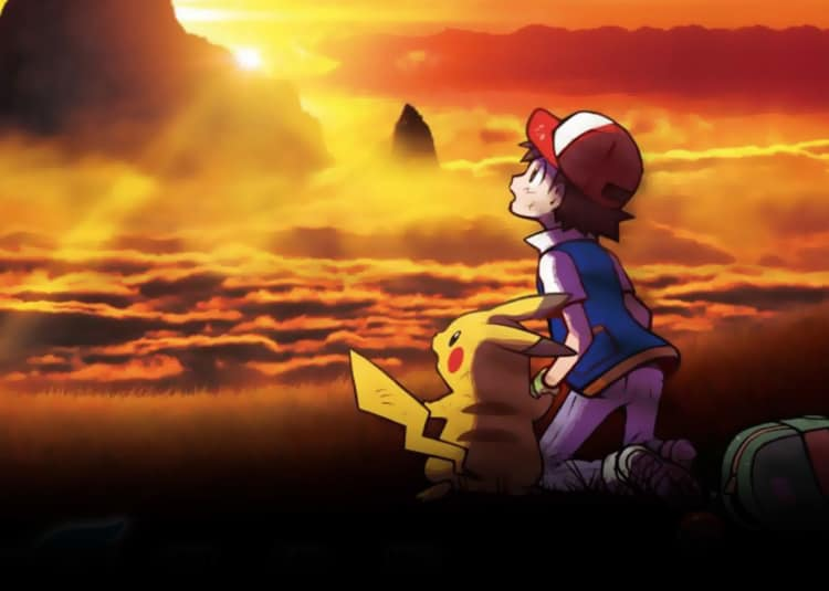 Promotional image for Pokémon The Movie: I Choose you!