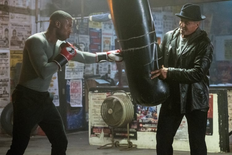 See CREED II in AMC Prime