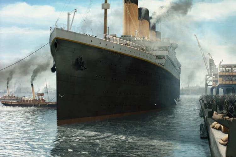 Promotional image for Titanic In Dolby Vision