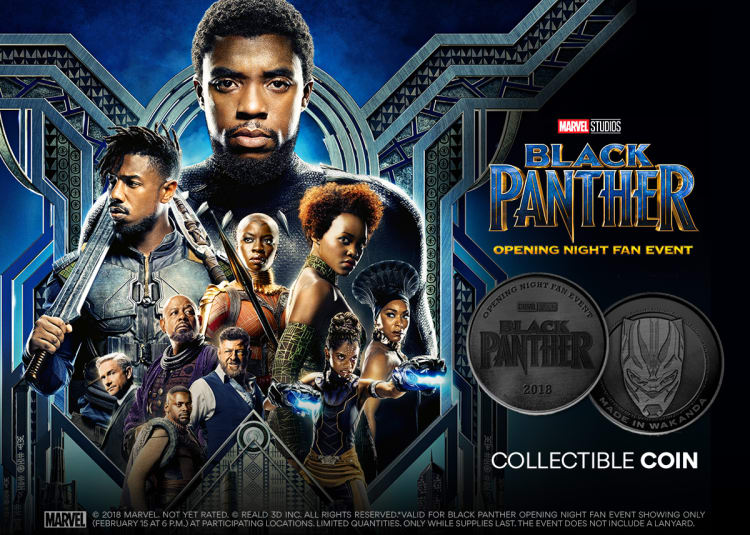 Promotional image for Opening Night Fan Event: Black Panther