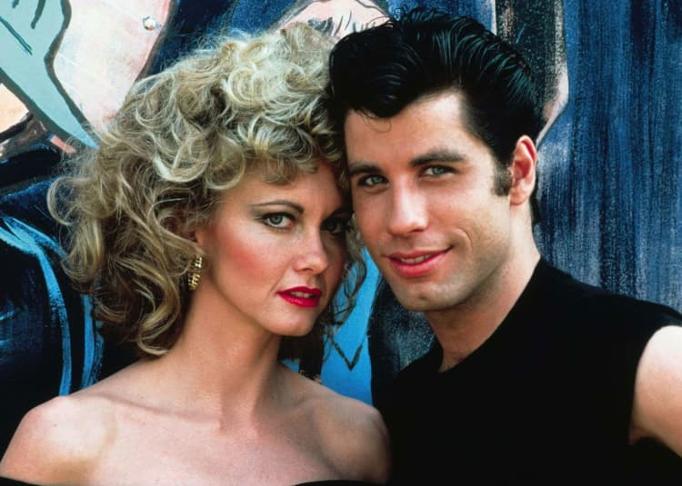 Promotional image for TCM: Grease 40th Anniversary Event