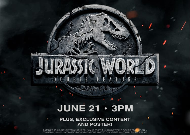bdea315200 Jurassic World Double Feature at an AMC Theatre near you