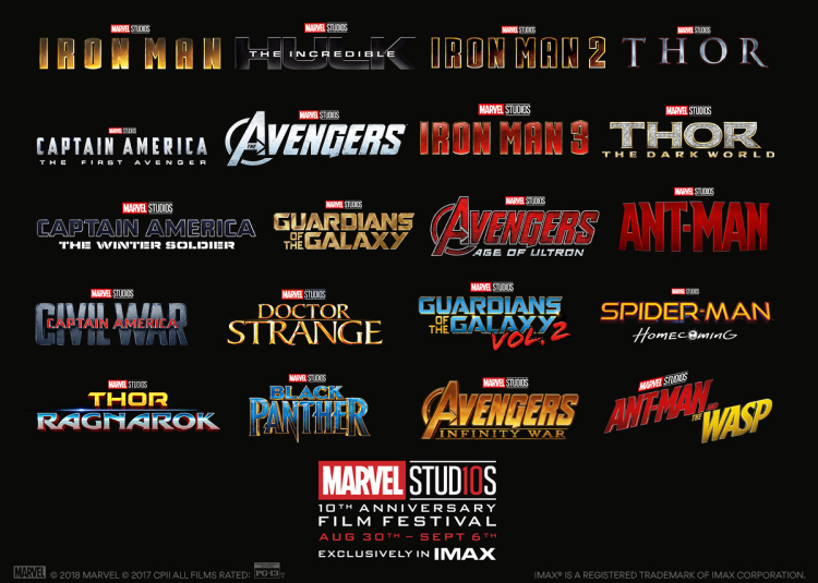 Marvel Studios 10th Anniversary Film Festival