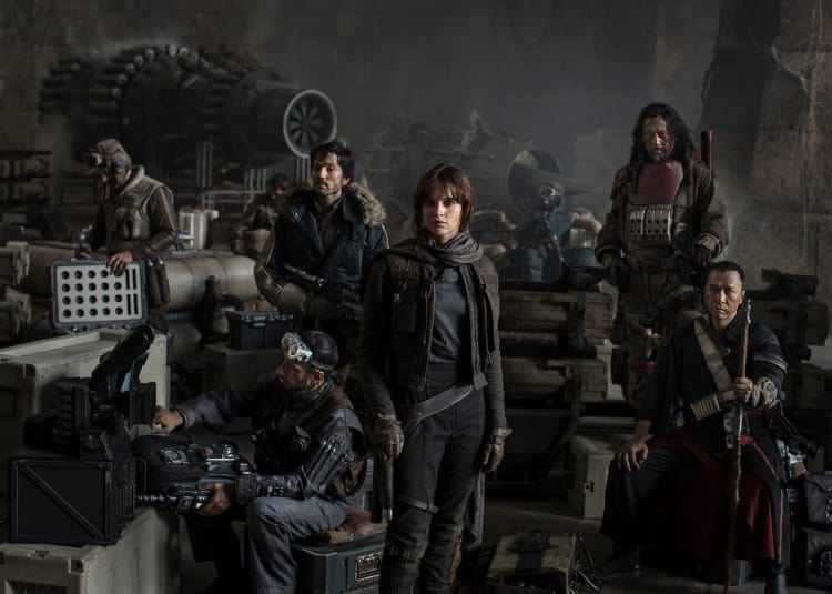 Promotional image for Rogue One: A Star Wars Story