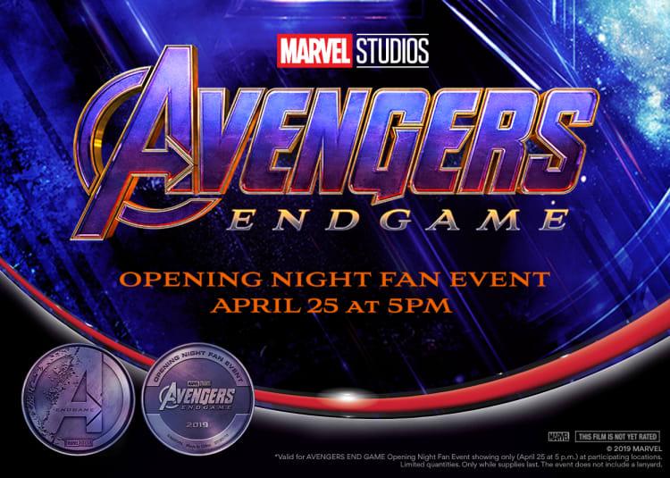 Avengers: Endgame at an AMC Theatre near you