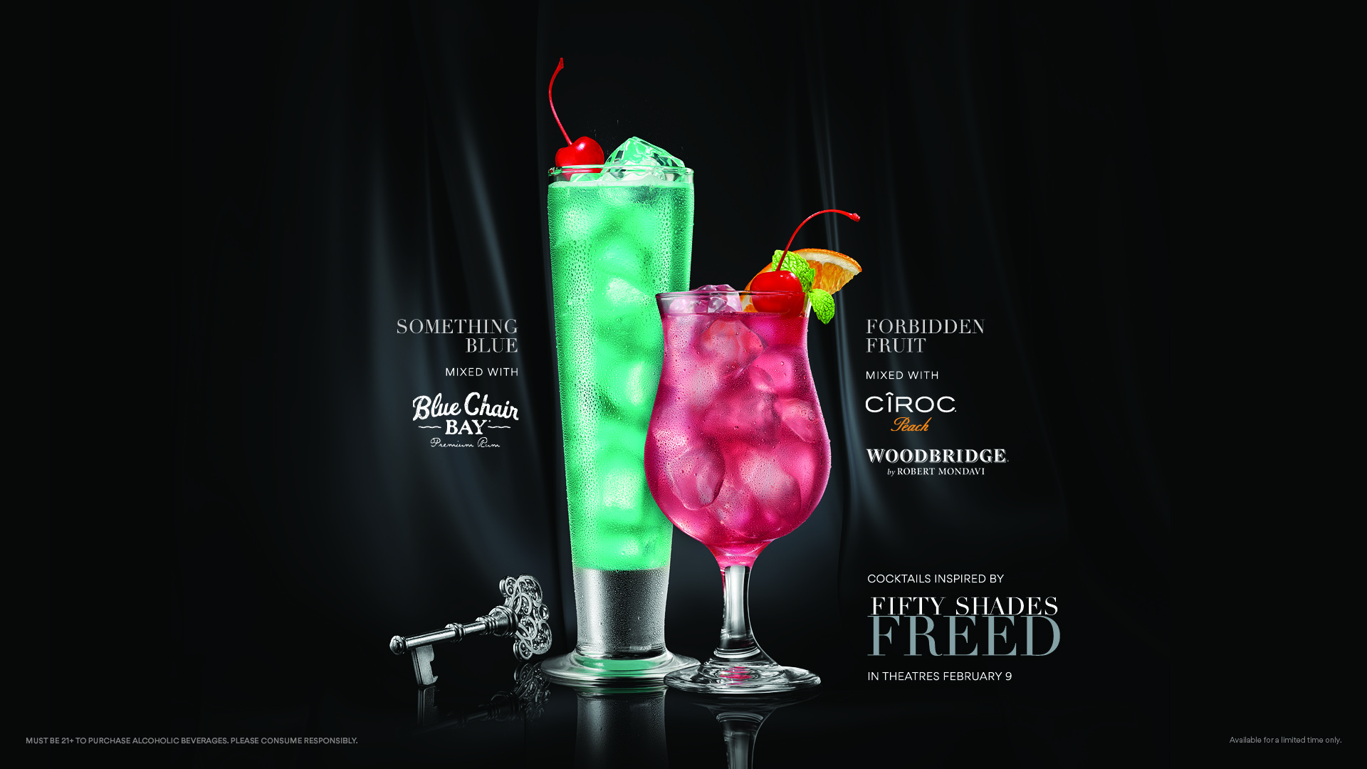 Fifty Shades Freed drink special