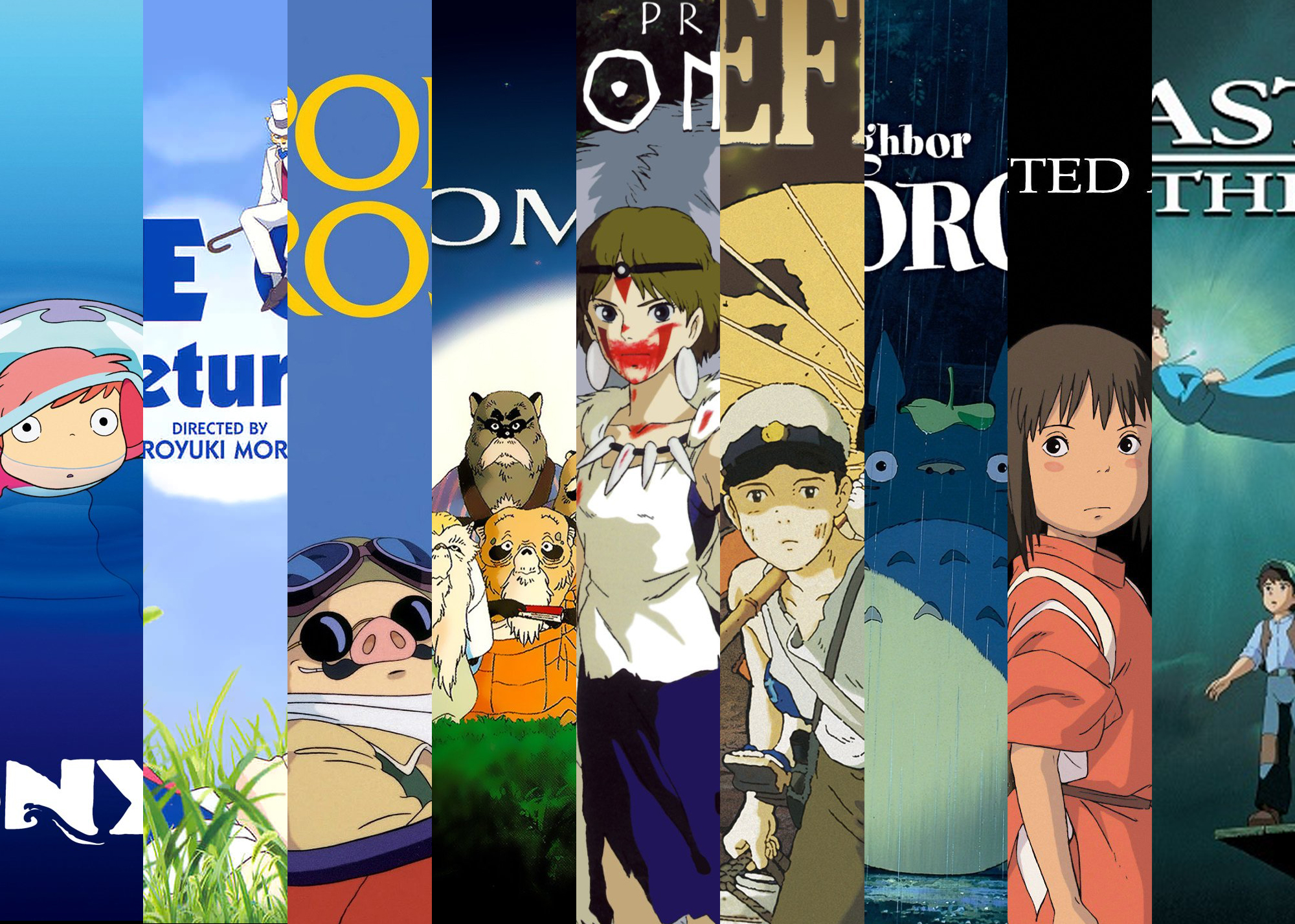 9 anime films at studio ghibli fest