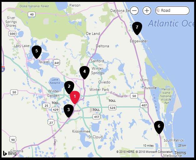 Florida Mall Map.Amc Universal Cineplex 20 Orlando Has Closed