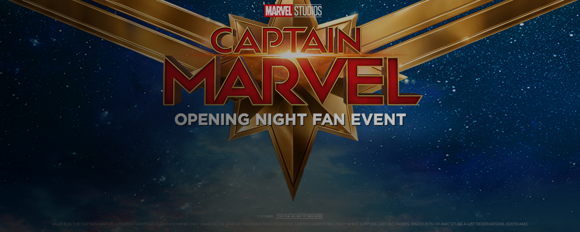 Opening Night Fan Event Captain Marvel