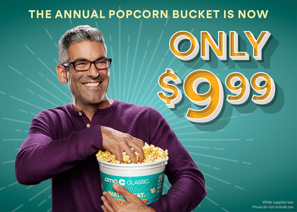AMC CLASSIC Popcorn Lovers, Rejoice!