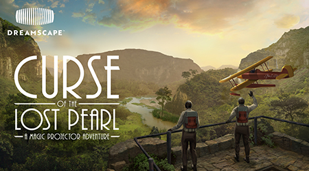 Play trailer for Dreamscape VR - Curse of the Lost Pearl: A Magic Projector Adventure