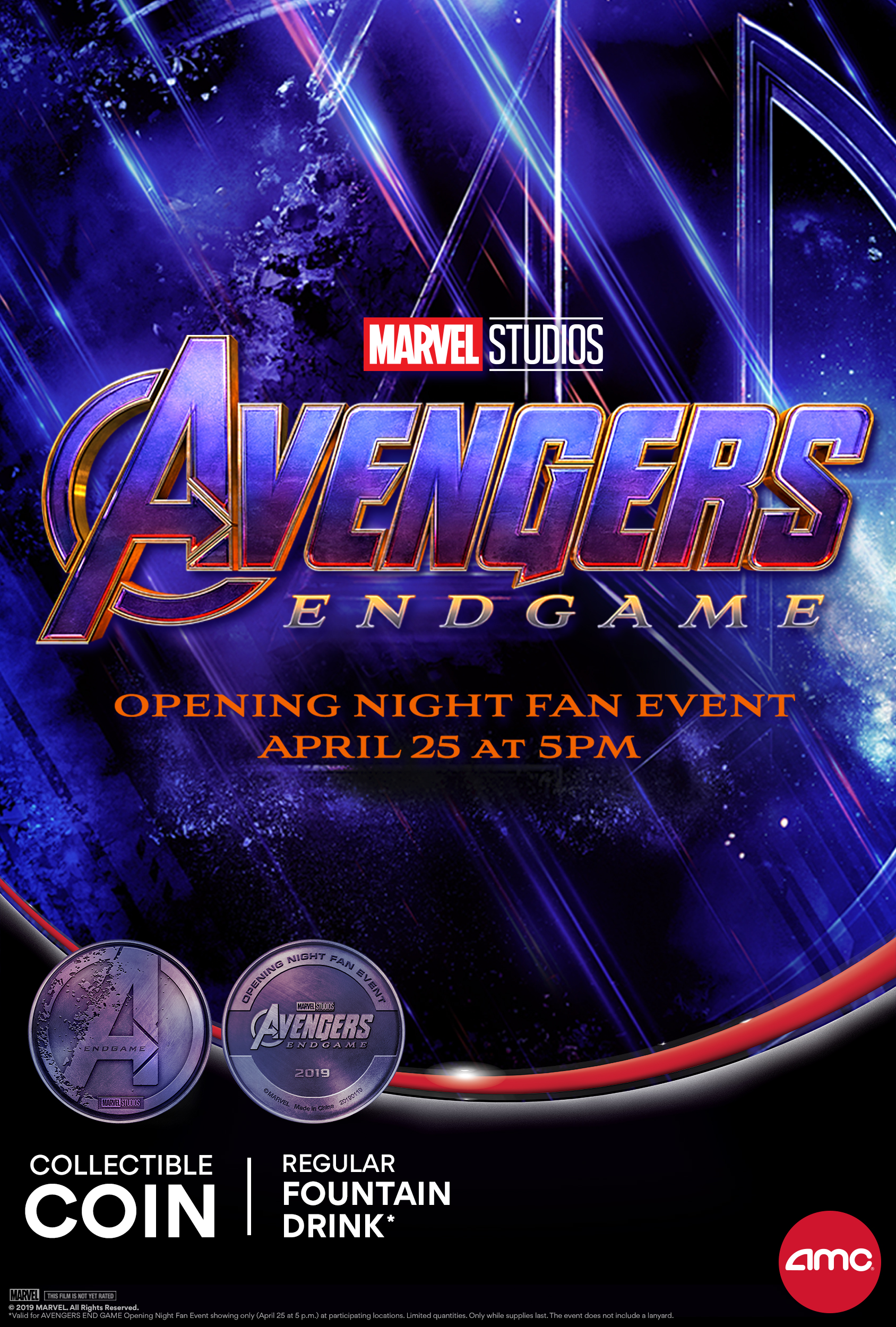 opening night fan event avengers endgame at an amc - HD 1688×2500