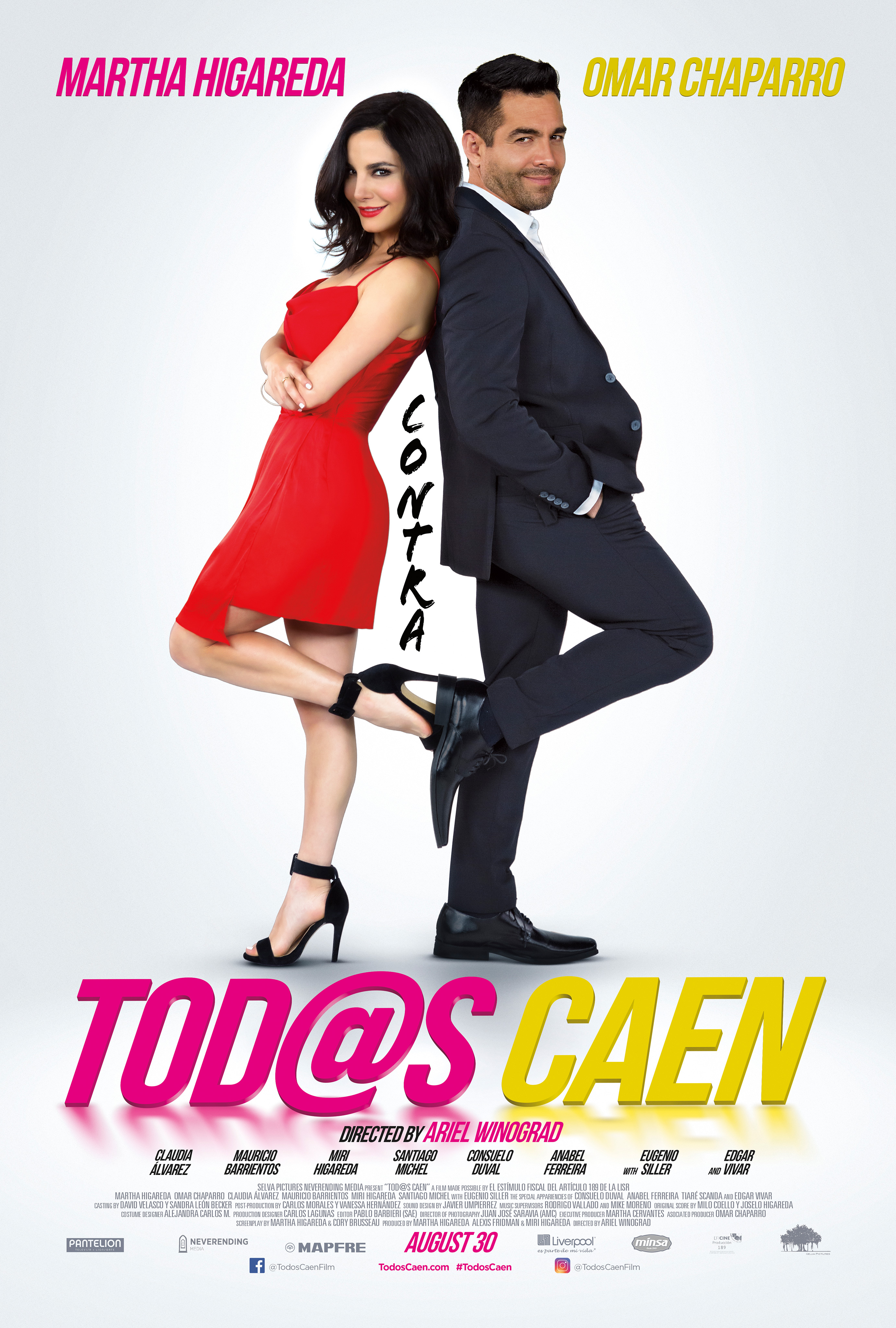 Amar Te Duele Full Movie tod@s caen now available on demand!