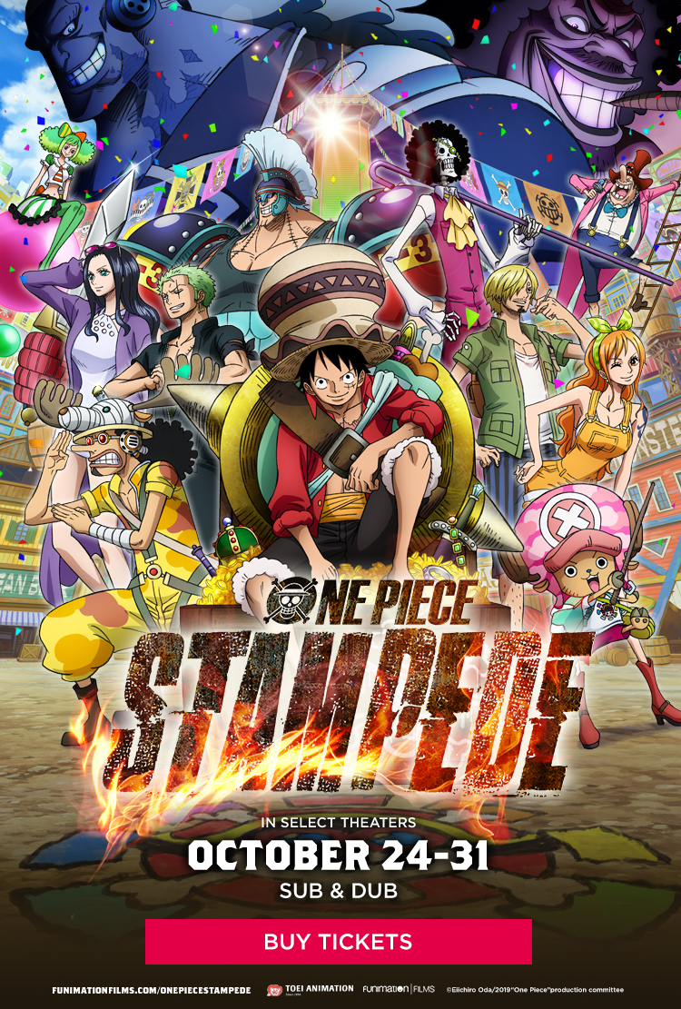 One Piece: Stampede at an AMC Theatre near you.