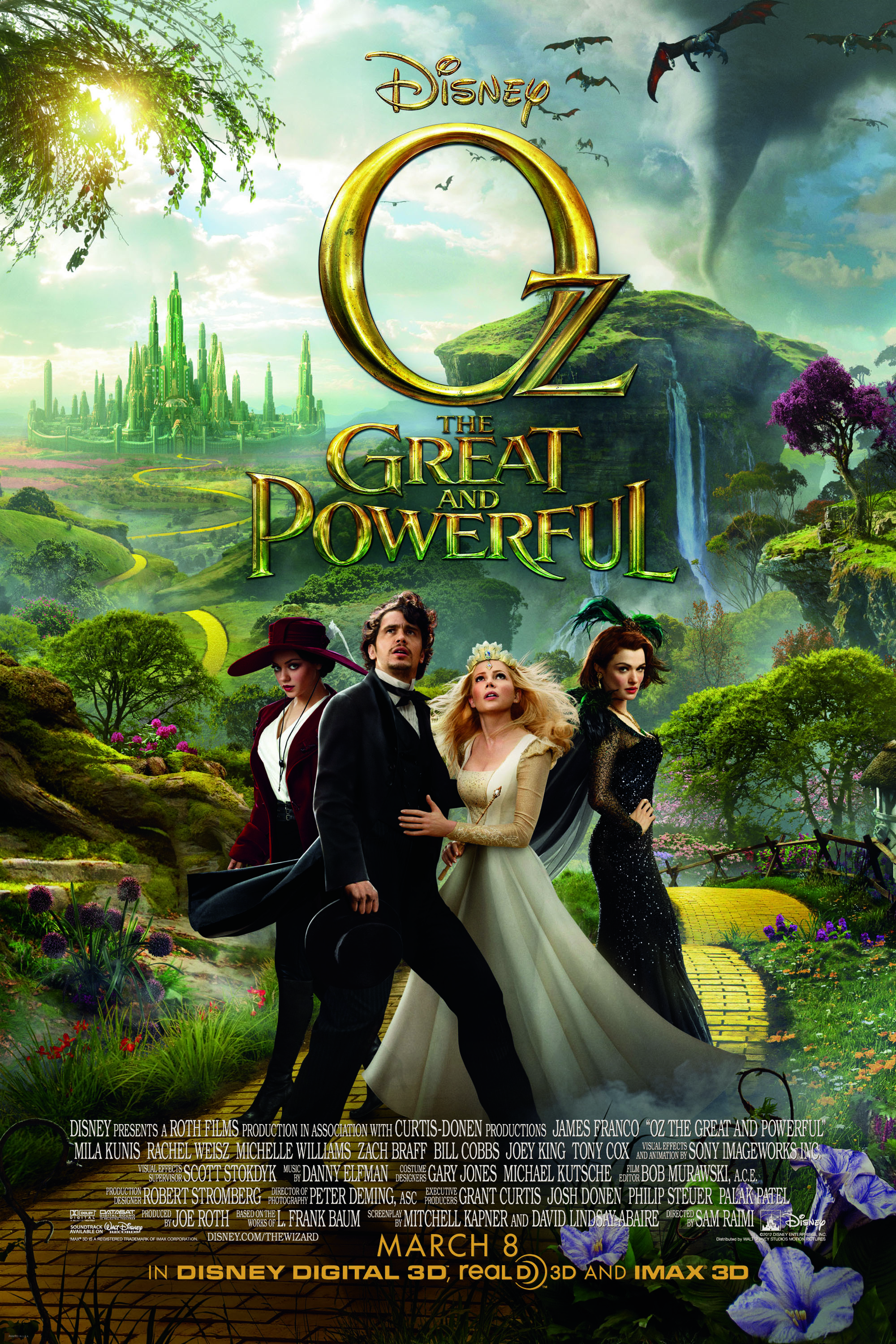Oz the Great and Powerful (2013) Cast and Crew, Trivia ... Oz The Great And Powerful Cast And Crew