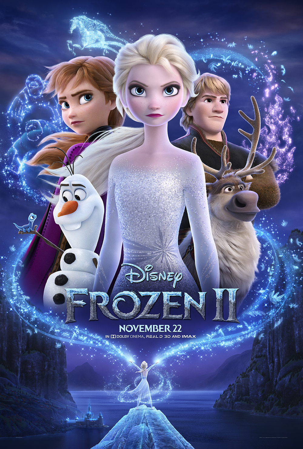 Image result for frozen 2 showtimes