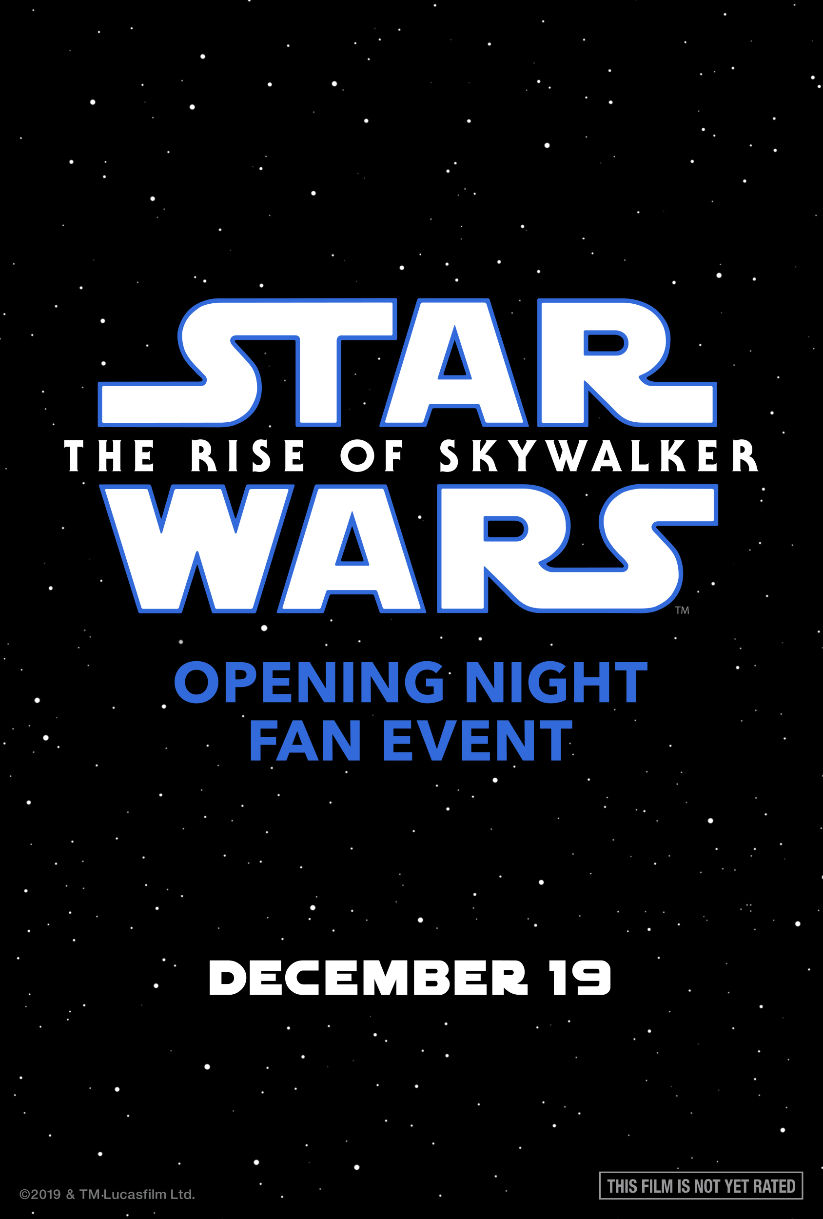 Opening Night Fan Event Star Wars The Rise Of Skywalker At An Amc Theatre Near You