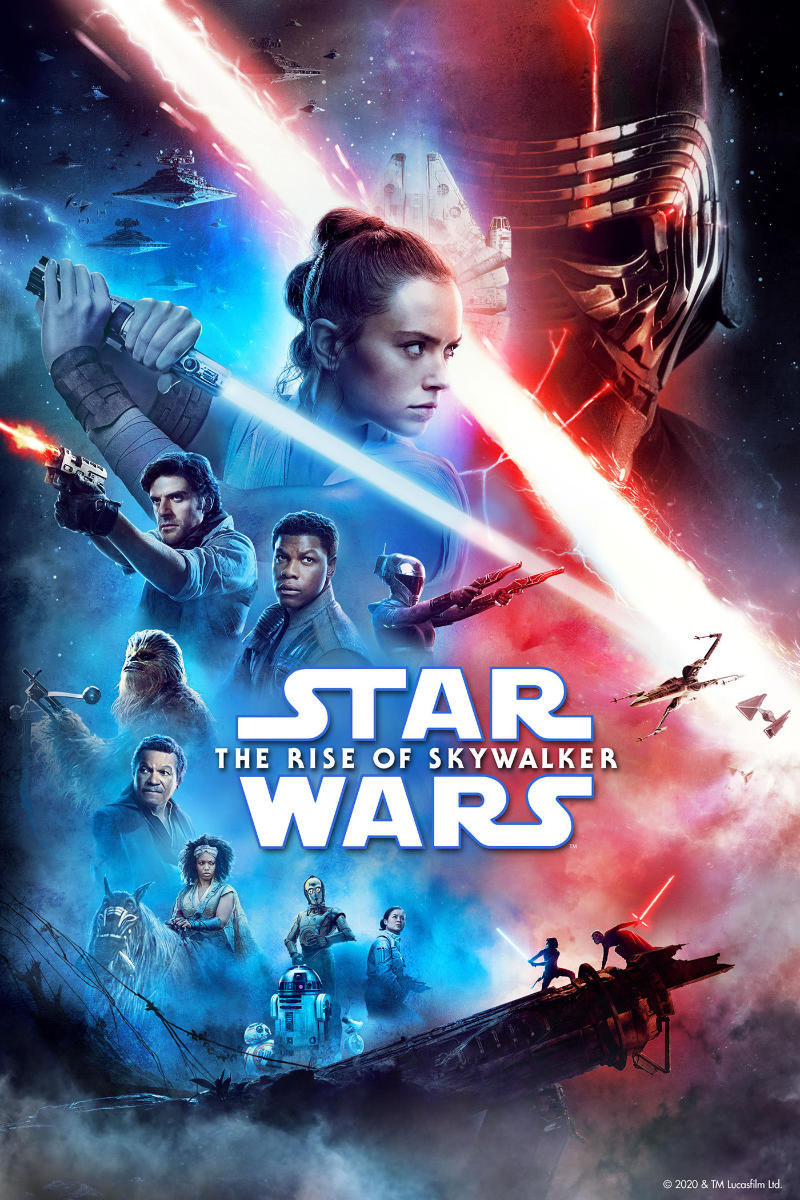 Star Wars The Rise Of Skywalker Now Available On Demand