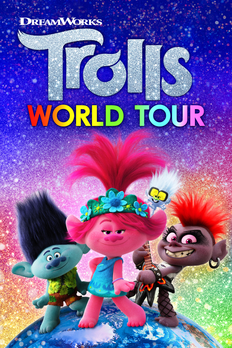 Trolls World Tour now available On Demand!