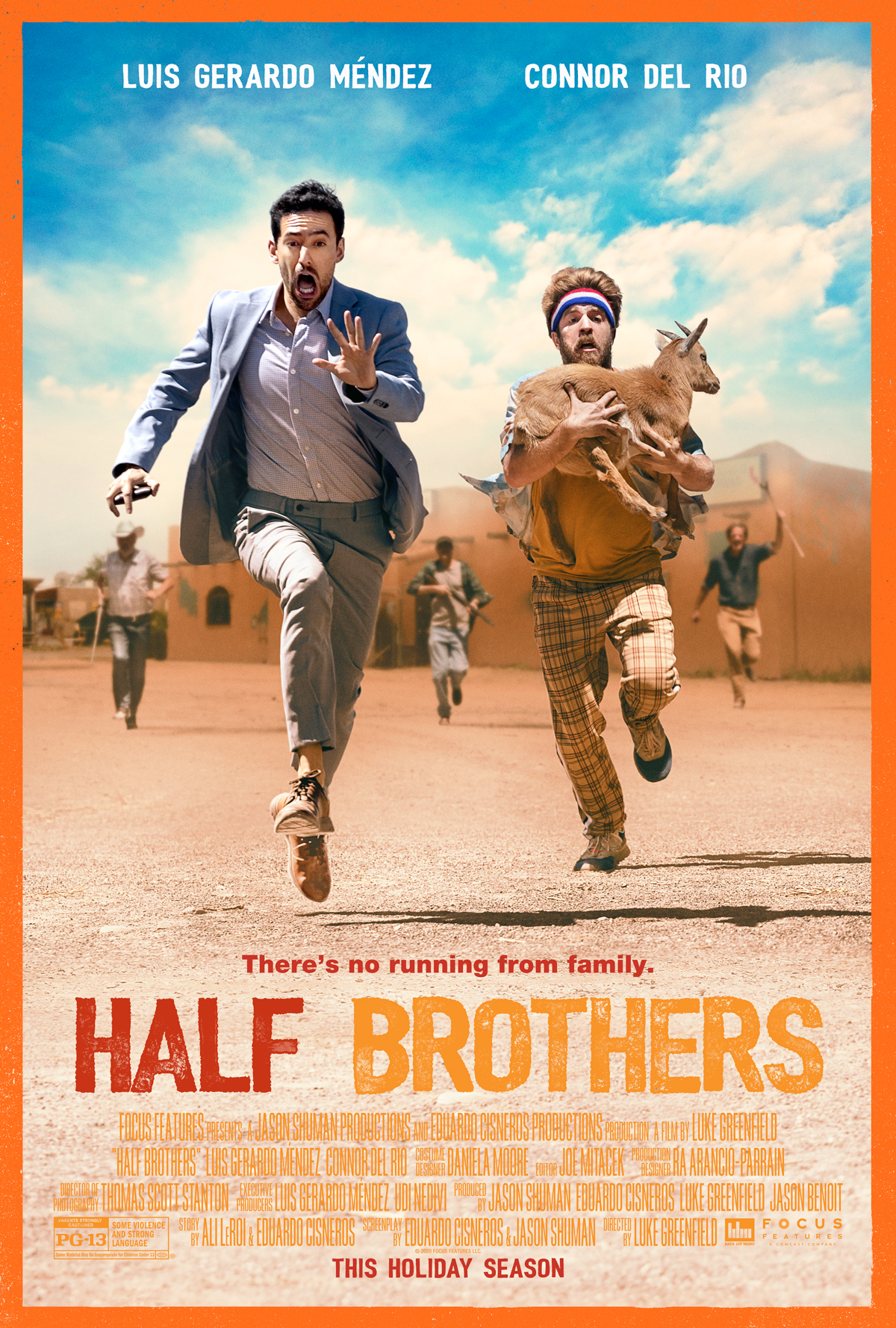 Half Brothers At An AMC Theatre Near You